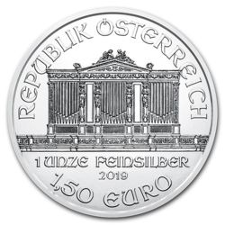 Philharmonique argent 1 once - Monster box de 500 - 2019 - Austrian Mint