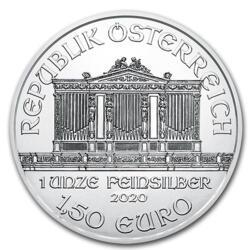 Philharmonique argent 1 once - Monster box de 500 - 2020 - Austrian Mint