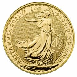 Britannia or 1 once - Pack de 10 - 2021 - The Royal Mint