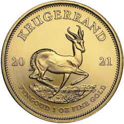 Krugerrand or 1 once - Pack de 10 - 2021 - South African Mint