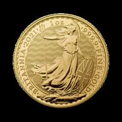 Britannia or 1 once - Pack de 10 - 2021 - The Royal Mint