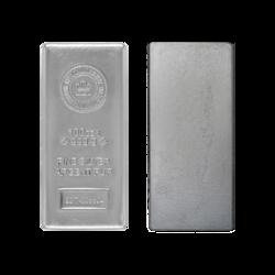 Lingot d'argent  100 onces - Royal Canadian Mint