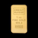 Lingot d'or  1 once - Crédit Suisse
