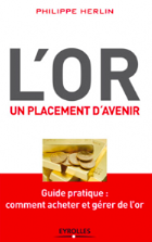 Couverture du livre L'or un placement d'avenir