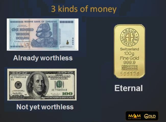 3 kinds of money